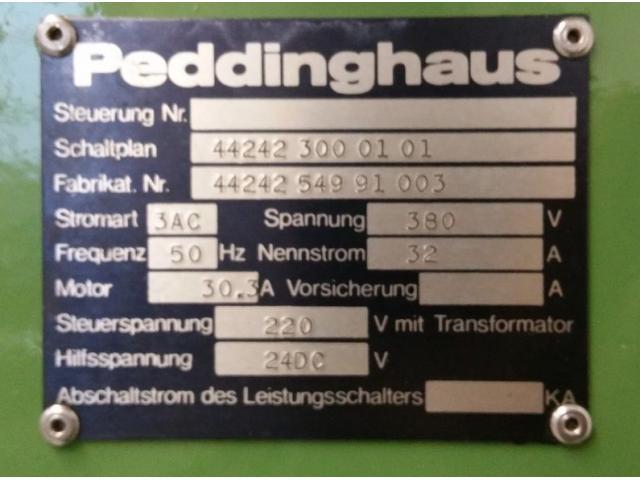 Peddinghaus Peddimaster 110/170  Profilstahlschere - 5