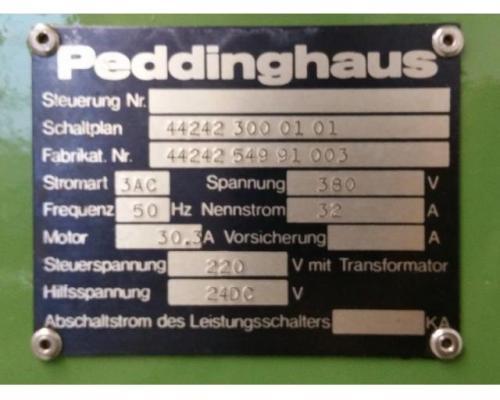 Peddinghaus Peddimaster 110/170  Profilstahlschere - Bild 5