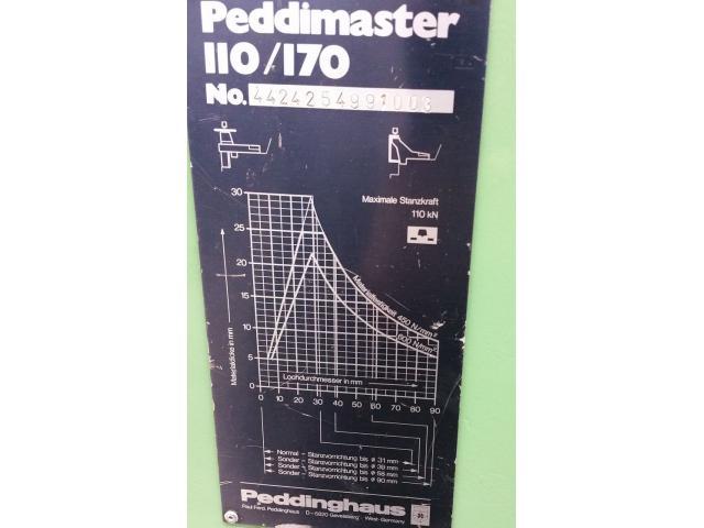 Peddinghaus Peddimaster 110/170  Profilstahlschere - 9