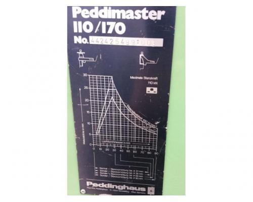 Peddinghaus Peddimaster 110/170  Profilstahlschere - Bild 9