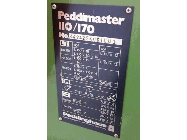 Peddinghaus Peddimaster 110/170  Profilstahlschere - 10
