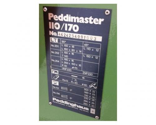 Peddinghaus Peddimaster 110/170  Profilstahlschere - Bild 10