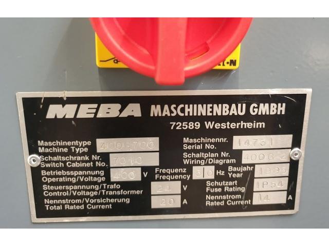 Meba 400 G 700 Bandsäge - 14