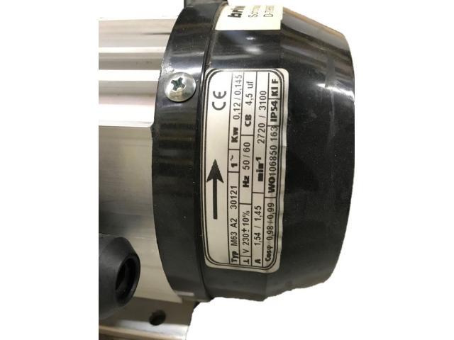 Trockenlaufende Drehschieber Vakuumpumpe VTE 3 - 3