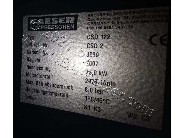 Schraubenkompressor Kaeser CSD 122 - 3