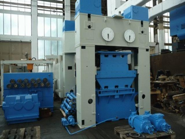 WMW Gotha Blechrichtmaschinen UBR 20x1600 - 1