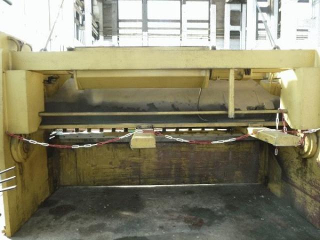 Beyeler Tafelscheren CP 3100x16 - 5