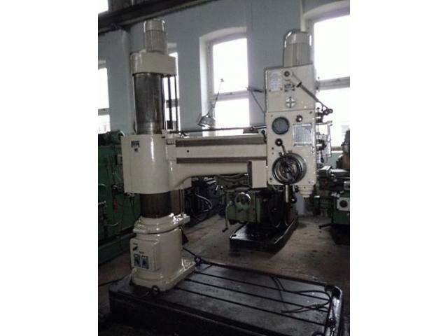 WMW Schmoelln Radialbohrmaschinen  BR 32 x1250 - 1