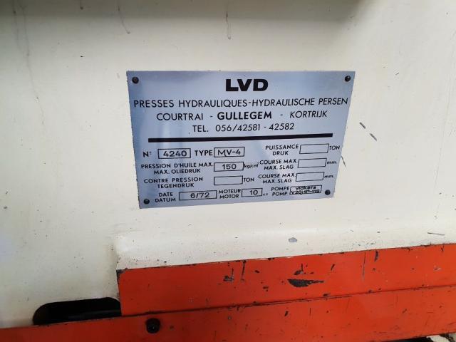 LVD MV 25 - 4 hydraulische Tafelschere - 4