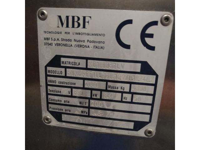 MBF Syncrofill Abfüllanlage für Weinflaschen - 2