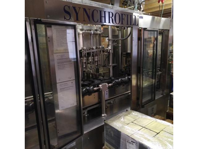 MBF Syncrofill Abfüllanlage für Weinflaschen - 5