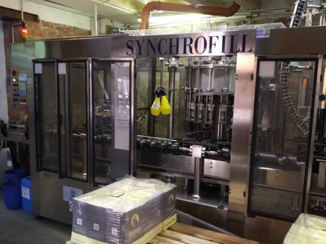 MBF Syncrofill Abfüllanlage für Weinflaschen - 6