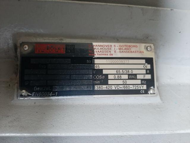 HELMKE DOR 225S Elektromotor 37 kW - 1