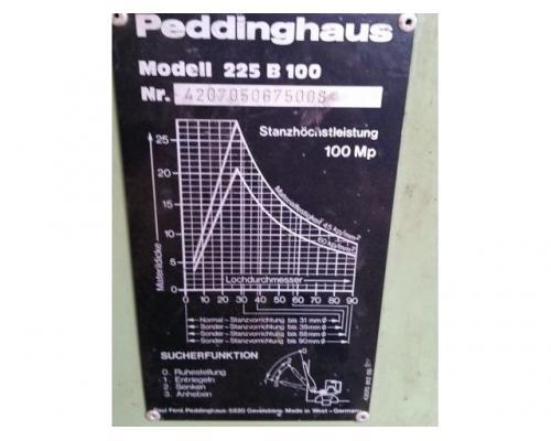 Peddinghaus 225 B 100 Lochstanze - Bild 4