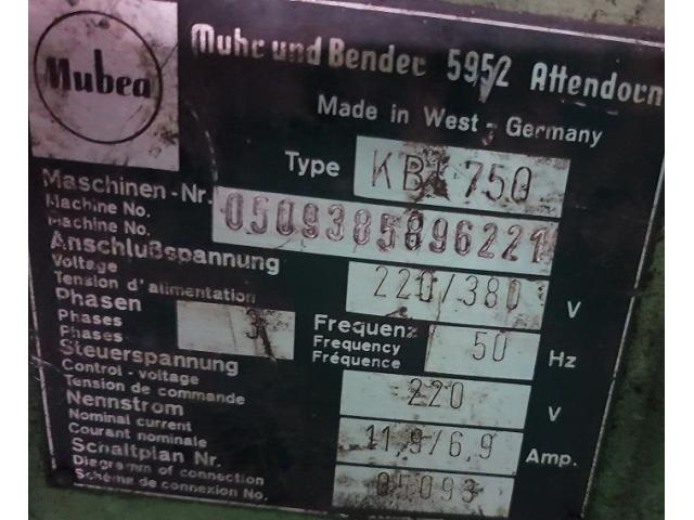 Mubea KBL 750 Profilstahlschere - 4