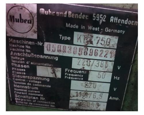 Mubea KBL 750 Profilstahlschere - Bild 4