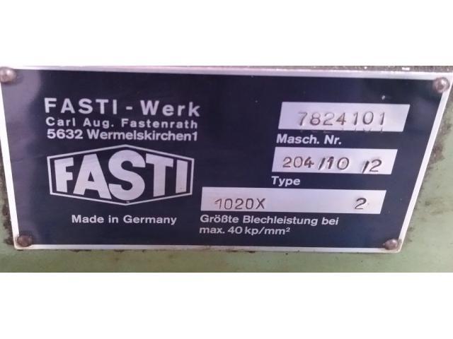 Fasti 204-10-2 Schwenkbiegemaschine - 5
