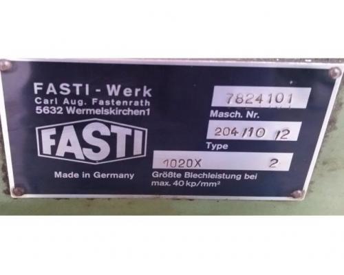 Fasti 204-10-2 Schwenkbiegemaschine - Bild 5