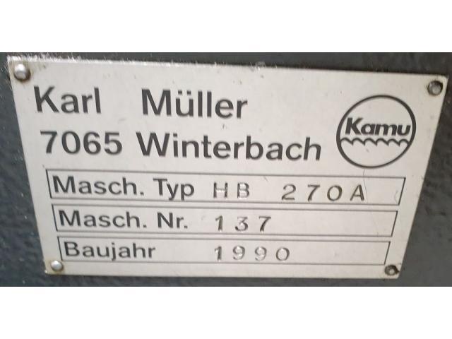 KAMU Müller HB 270 A Bandsäge - 8