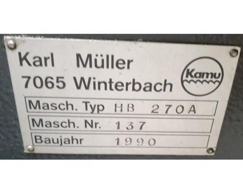KAMU Müller HB 270 A Bandsäge - Bild 8