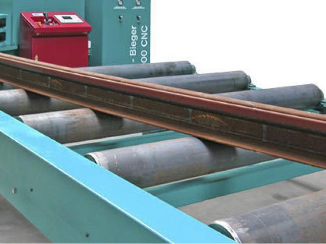 Hydraulische Biegemaschine 4400 CNC - Rail - 2