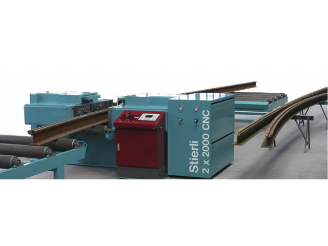 Hydraulische Biegemaschine 3300 CNC - Rail - 1