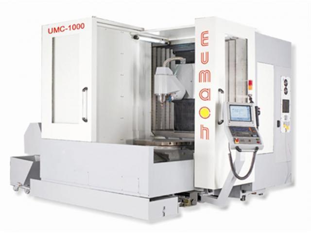 EUMACH 5-Achs UMC-1000 mit B- und C-Achse - 1