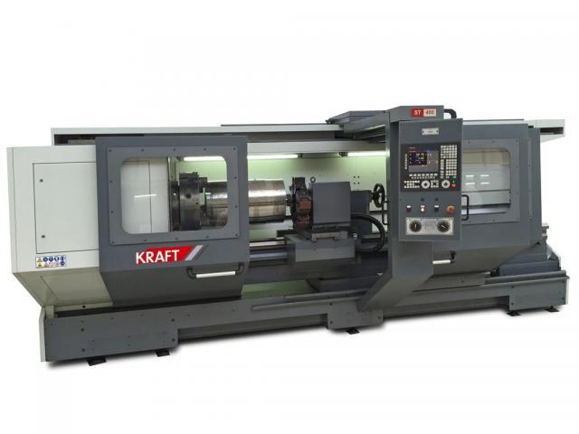 KRAFT KTH 400/2000 (Spindelbohrung 155mm) №1124-100132 - 1